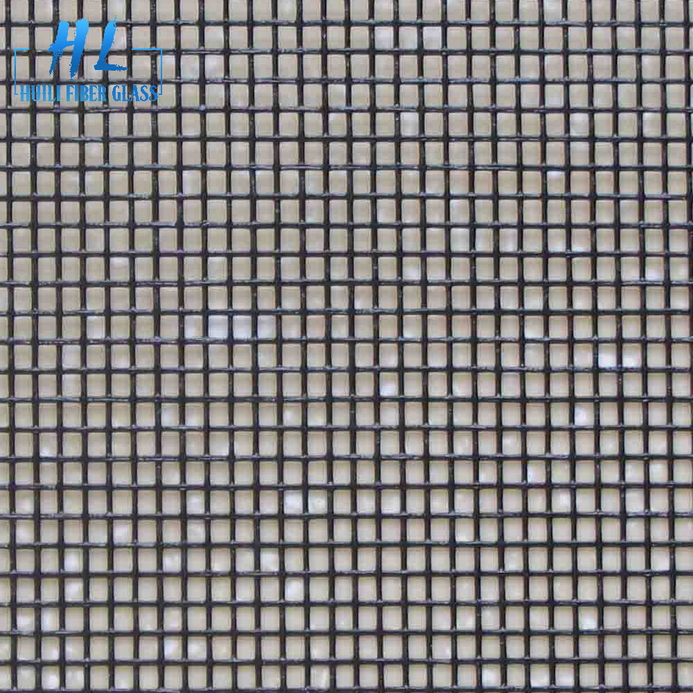 0.9m x 30m roll gray fiberglass window screen for insect and mosquito
