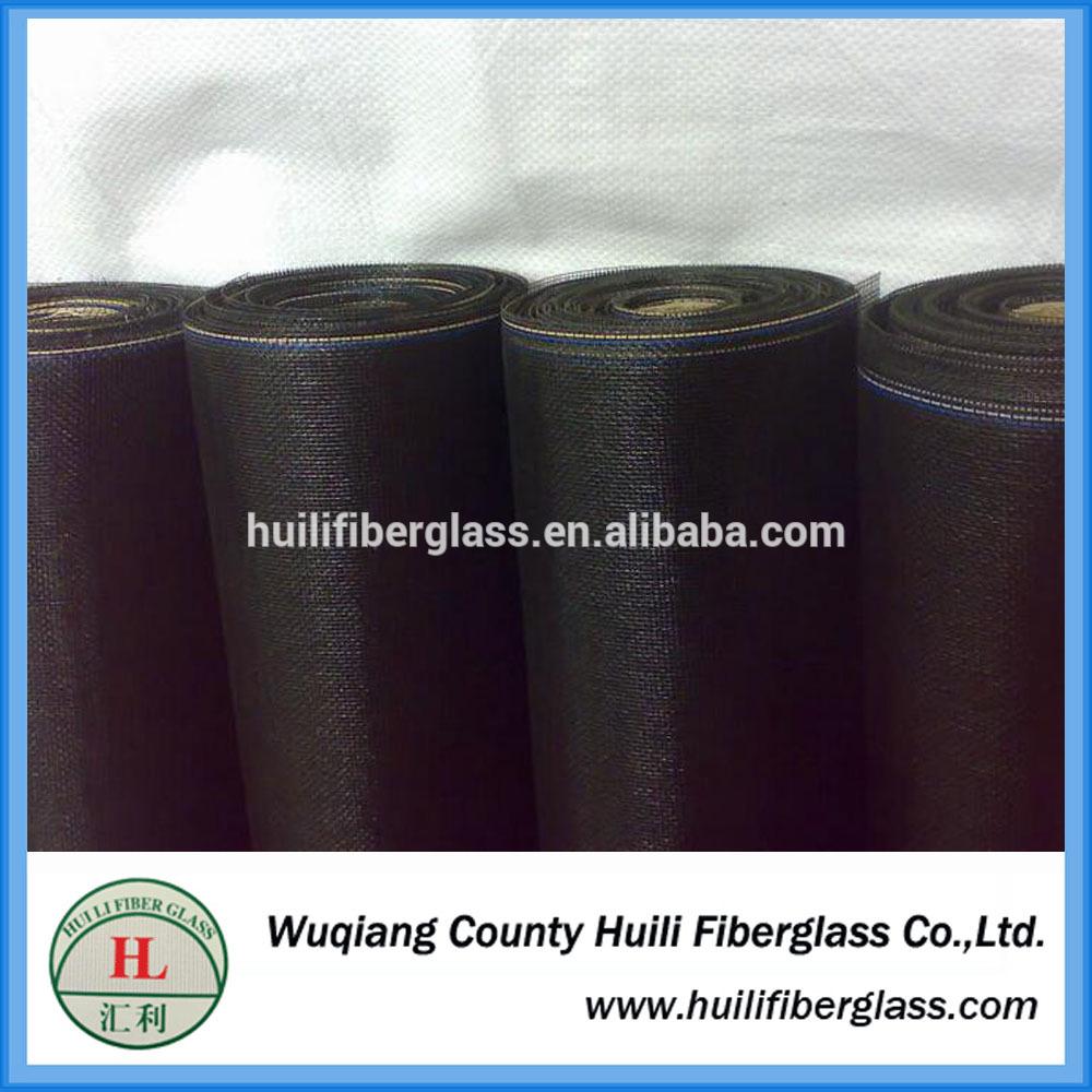 1.2*25m/roll 1.2*20m/roll grey black fiberglass mosquito net for Nigeria windows
