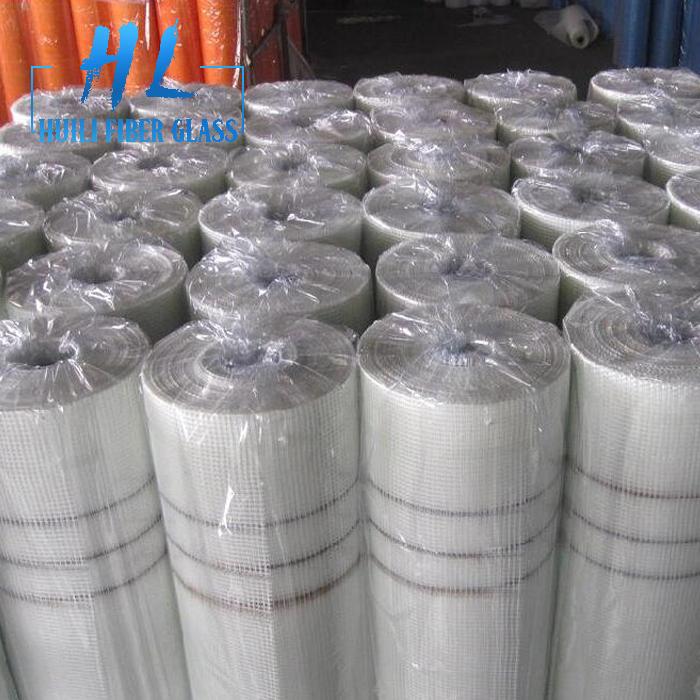 100g 5×5 white fiberglass mesh for reinforcement