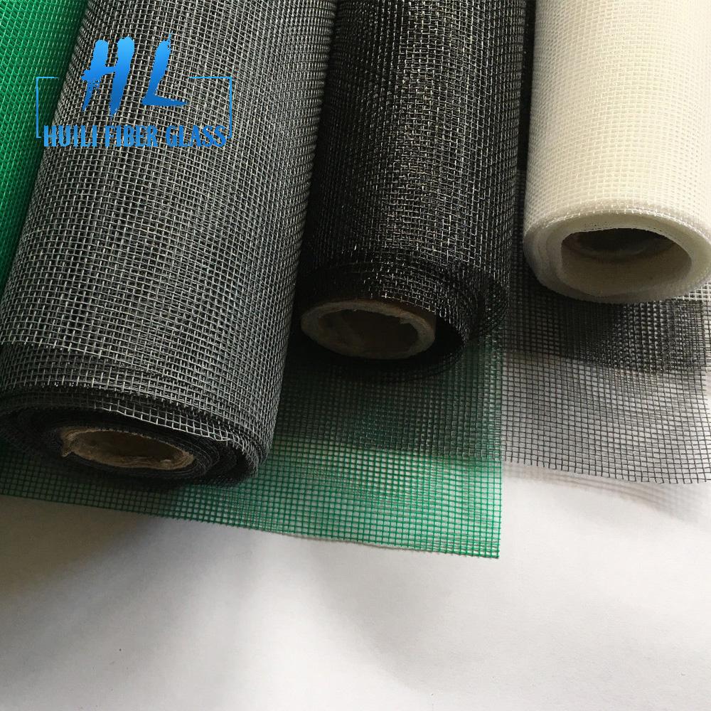 100g/m2 pvc coated fiber glass window screen