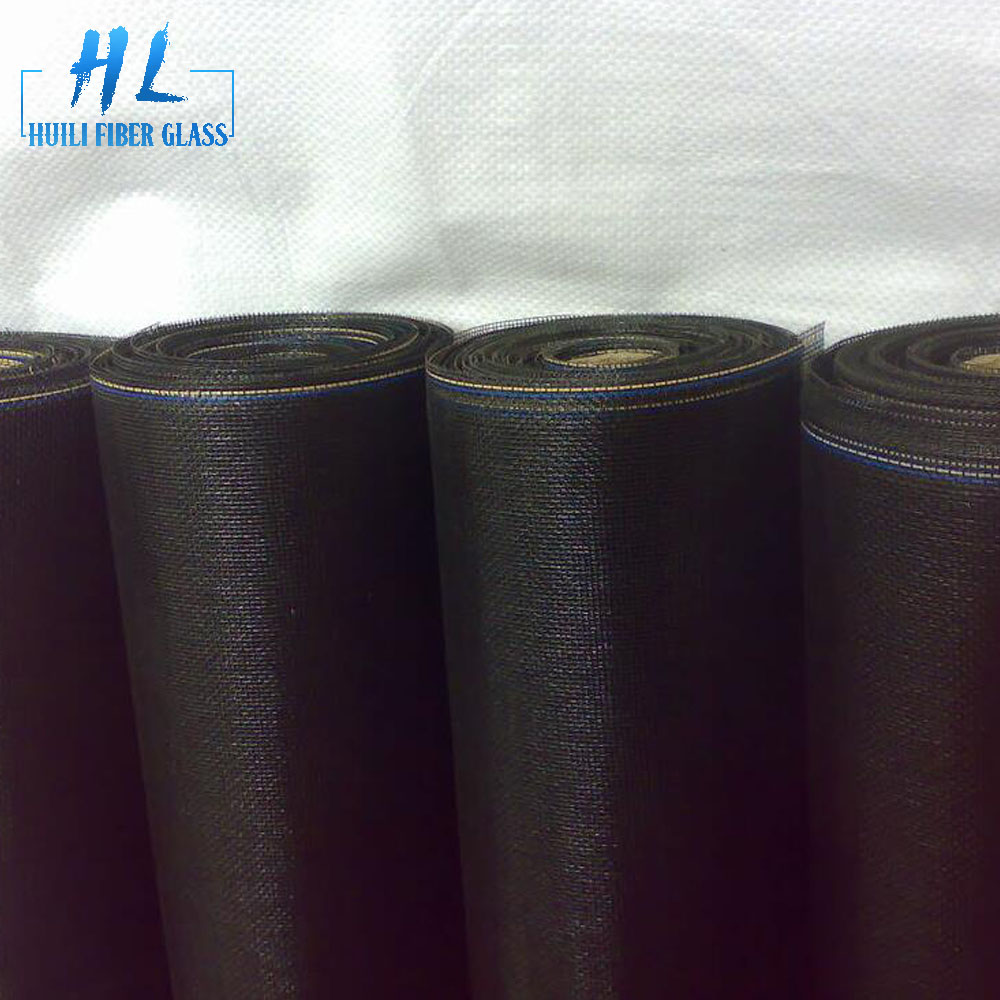 110g/m2 pvc coated fly screen roll for window and door