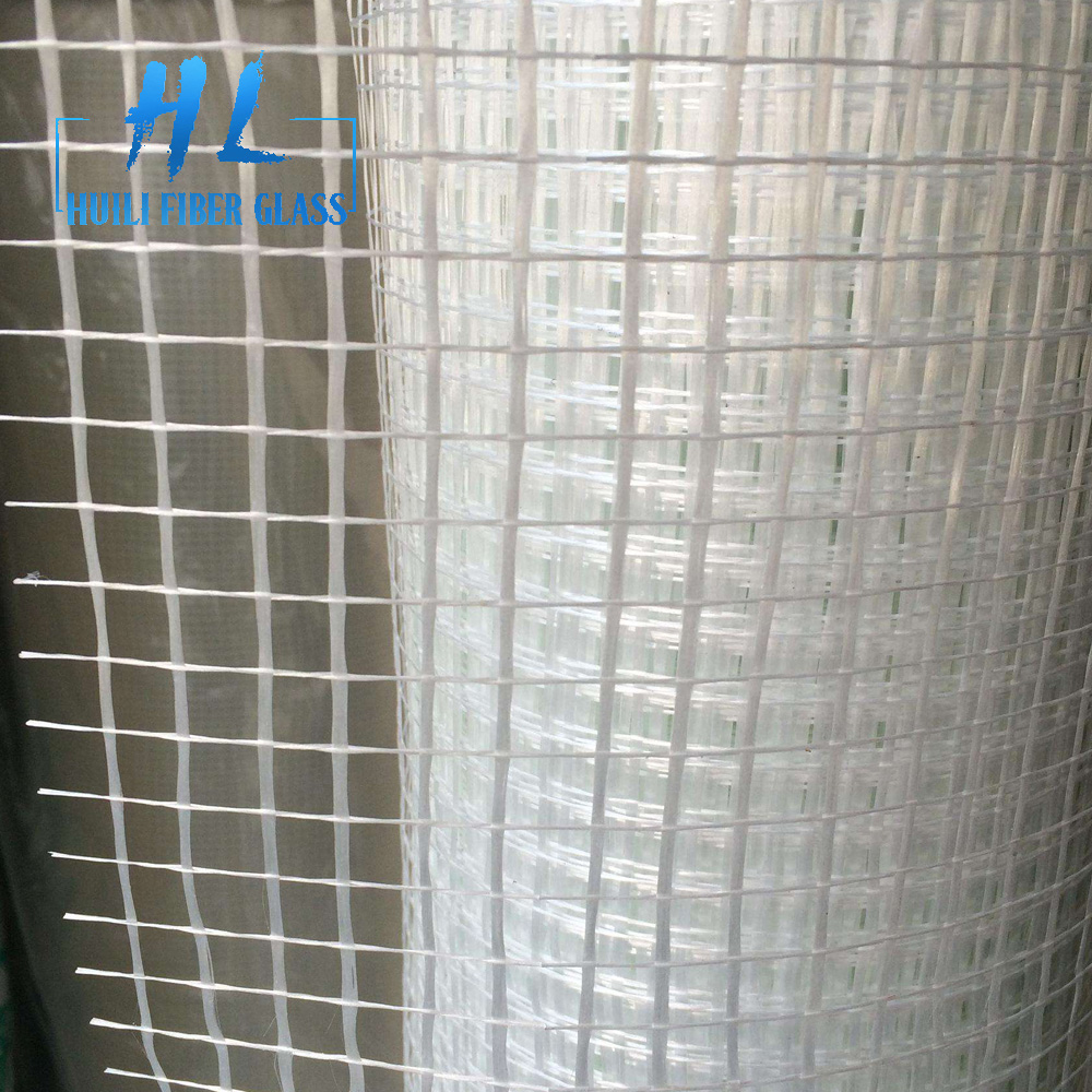 145g 4x4mm fiberglass mesh for reinforcement and concrete