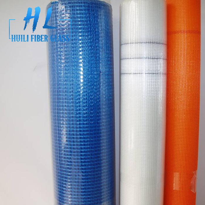 160g 4x4mm Facade Fiberglass Mesh Fabric