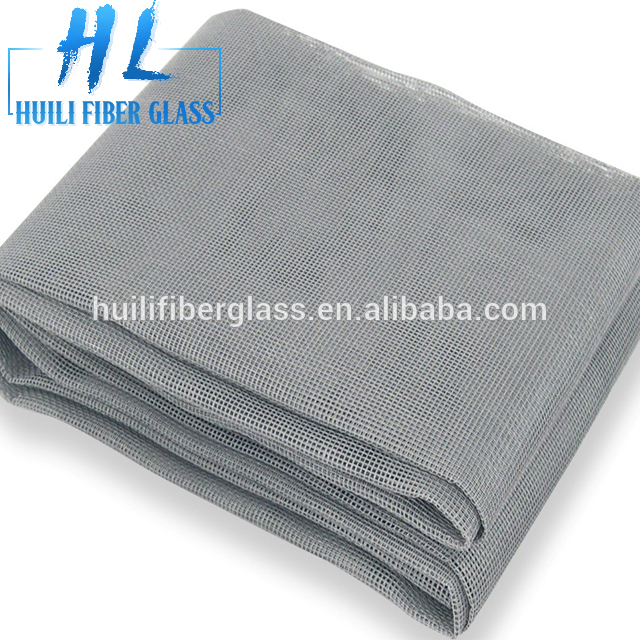 18*16 120g/m2 Fire Proof Pleated Invisiable Plastic Coated Window Fiberglass Insect Screen (Factory &Exporter)