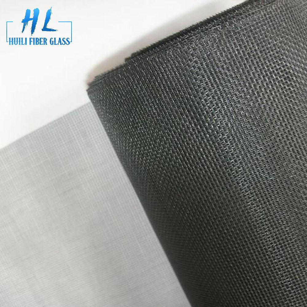 18×16 mesh pvc coated fiberglass window screen insect nets