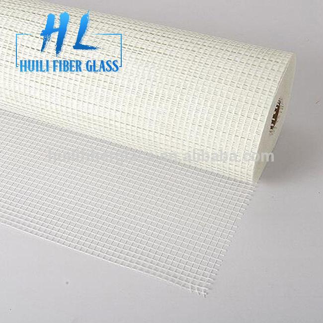 1m*50m white Epoxy resin fiberglass mesh/Alkali Resistant Fiberglass Mesh