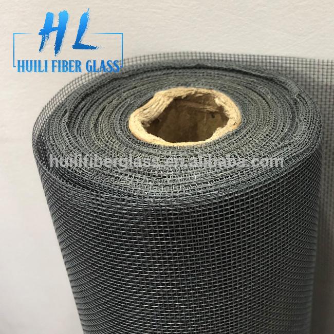 2018 no-see-um mesh charcoal 20*20 Plain Weave Fiberglass Insect Screen