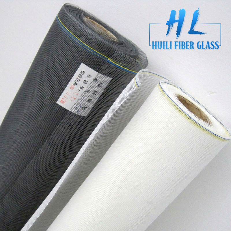 20*20 1.2*300m/roll charcoal color fiberglass insect screen/window screen