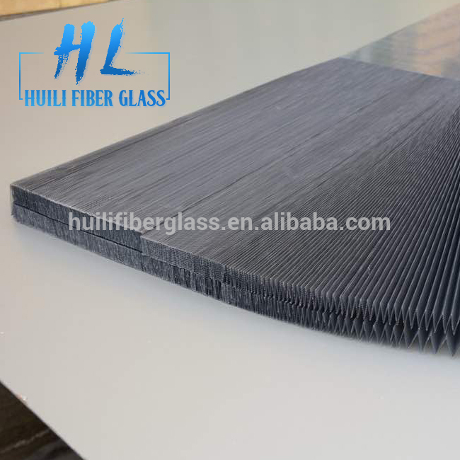 20*20 mesh size insect screen folded mesh pleated screen mesh PP material