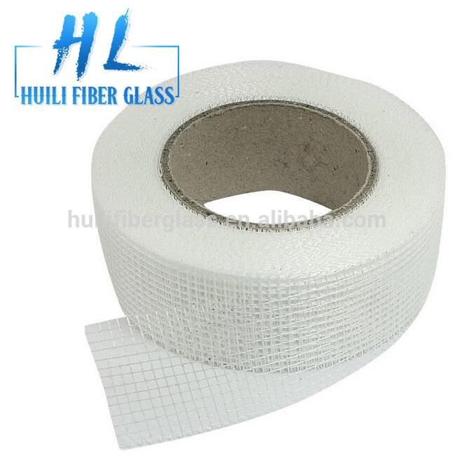 45g 2.5*2.5 self-adhesive waterproof fiber glass mesh tape