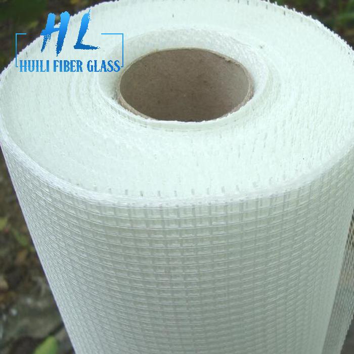 75g 5×5 alkali resistant white fiberglass mesh