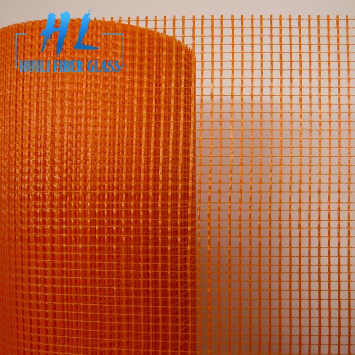 75gr 5x5mm White Color Fiberglass Mesh For Pop Sheet