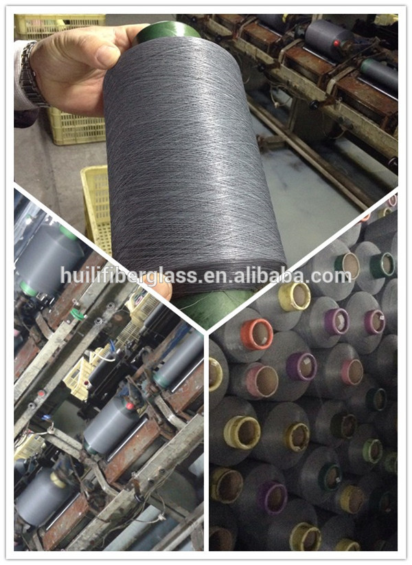 Fire Resistant PVC coated glass fiber yarn