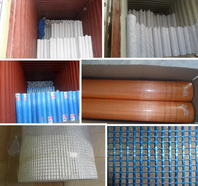fiberglass mesh 4x4 160g/ m2 1x50m per roll used for buildings