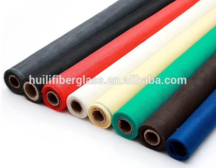 Waterproof mesh screen fiberglass mosquito screening window screen netting factory
