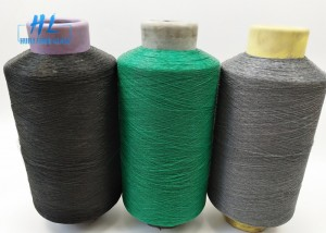 0.25mm Diameter PVC Coated Fiberglass Yarn , PVC Coated Wire Mesh Yarn