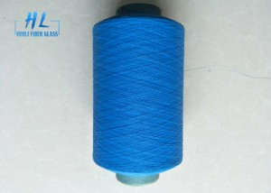 Huili PVC Coated Fiberglass Yarn Anti – Aging Anti – Corrosion Various Color
