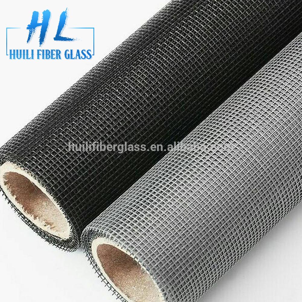 Alkali-resistant fiberglass insect screen mesh / fiberglass window screen / fiberglass mosquito netting