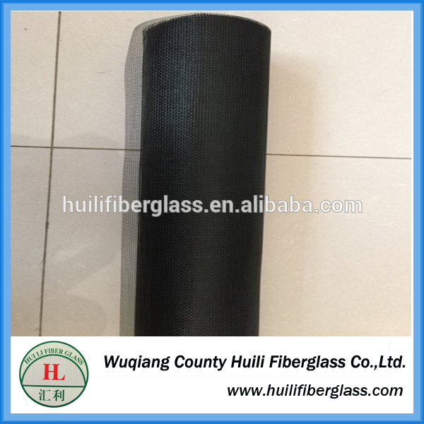 Beautiful Durable Fiberglass Window Screen/Mosquito Nets (Black)/Flame retardant fiberglass wire netting