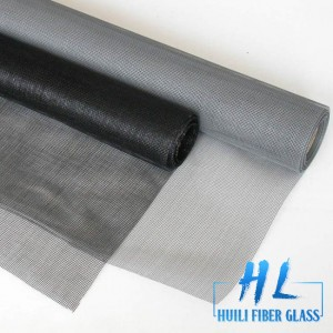 17*14 ivory color fiberglass woven mesh glass fiber screen with double edges