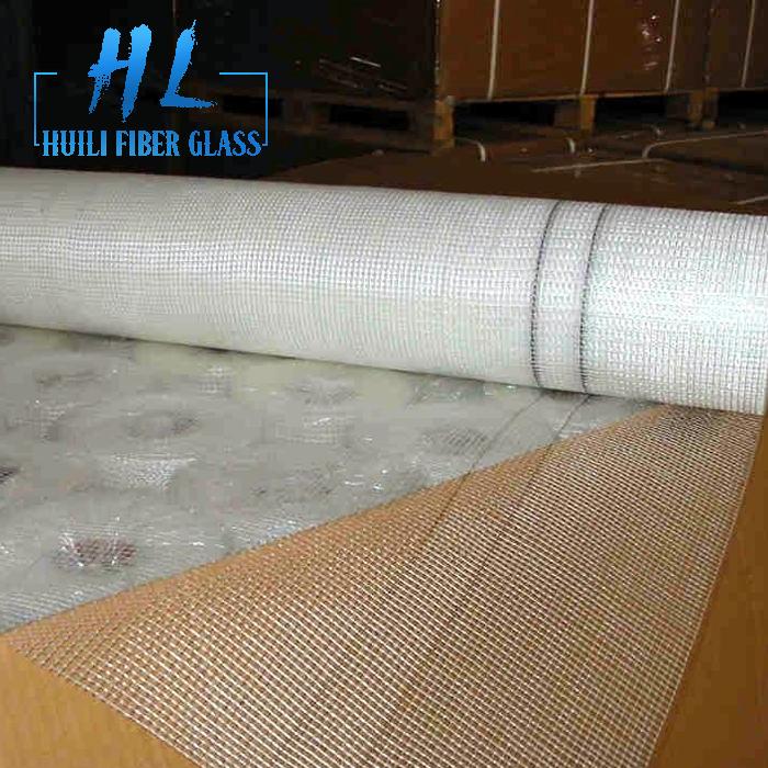 C glass 80g – 160g white fiberglass mesh with 4×4 or 5x5mm