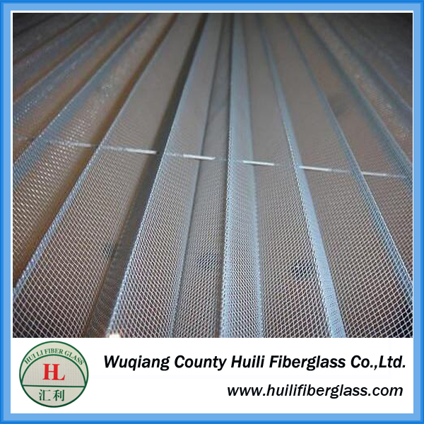 colored pleated insect screen/retractable fly screen