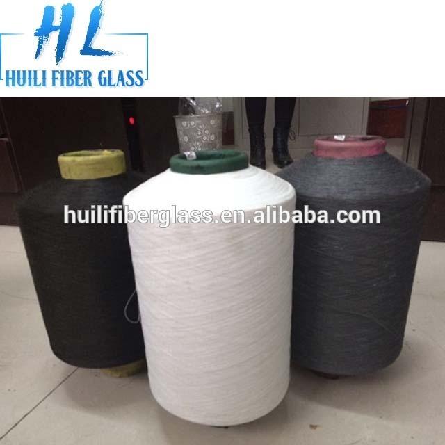 E-class roving ze skelných vláken příze / role příze / PVC potažené skleněné vlákno příze
