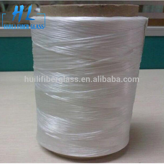 E Fiberglass Roving Yarn 2400 Tex 17um with Vinyl Resin