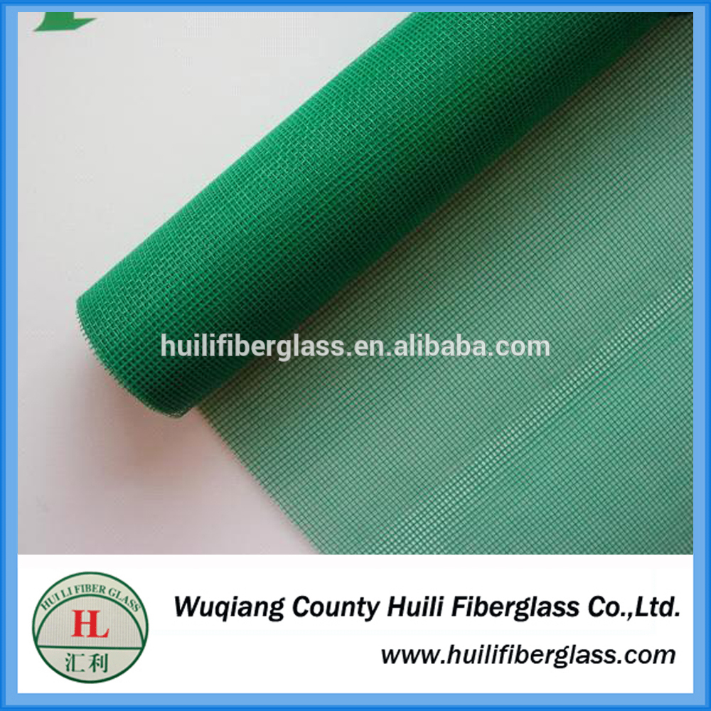 Easy to wash fiberglass one way vision window screen netting insect window screening fly mesh