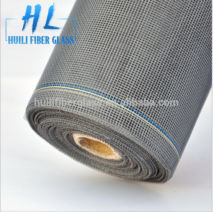 Factory building material fiberglass window screen rolls 110g/m2 14*17