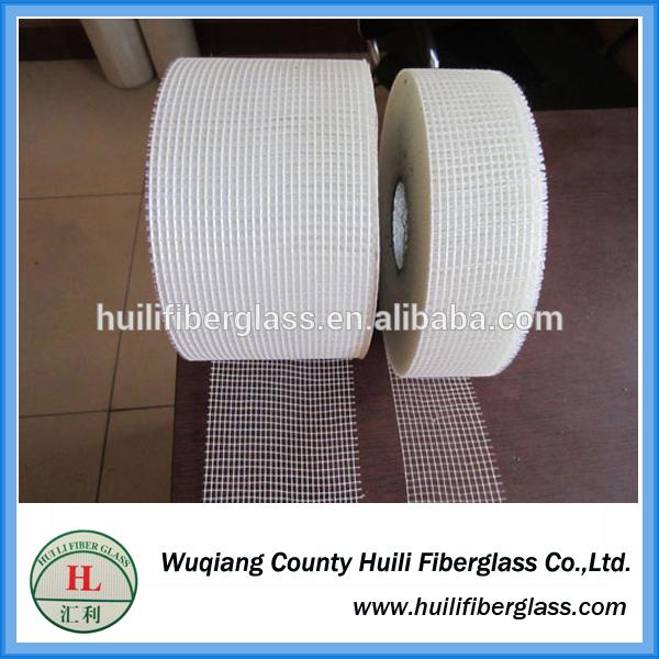 Factory Direct supply 8*8,9*9 Drywall Joint Self Adhesive Fiberglass Mesh Tape for Repair Cracks