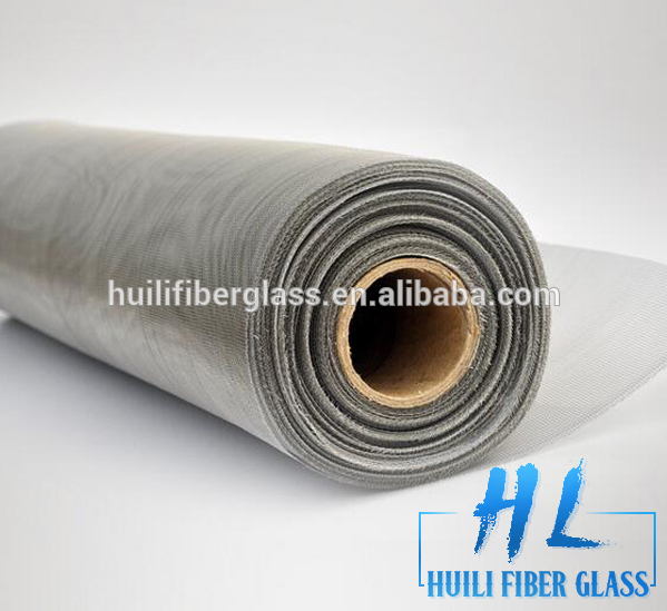 Factory Supply PVC Coated Window insect Fiberglass Screen Mesh