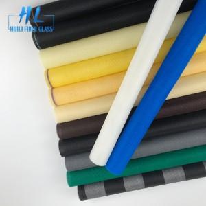 18×16 standard pvc coated fiberglass insect screening