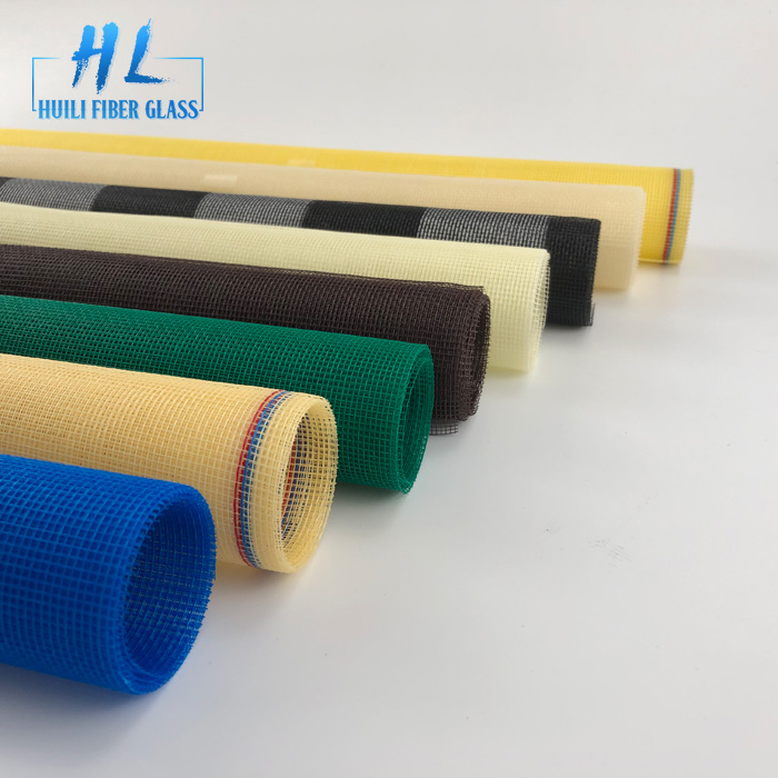 fiberglass insect mesh window roll down fly screens with high quality Featured Image