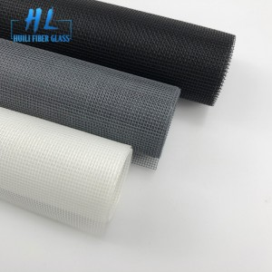 18×16 3ft x 30 Black PVC coated fiberglass insect screen mesh