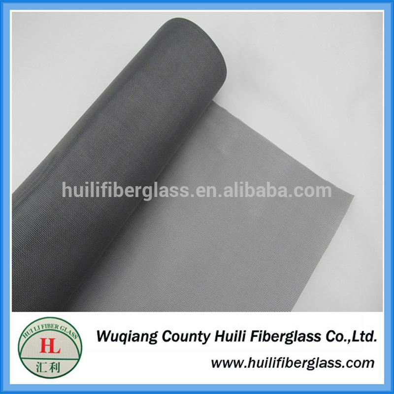fiberglass insect screen invisible window screen glass fiber mesh from Huili factory