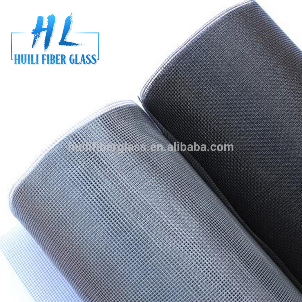 Fiberglass Invisible insect Screen Mesh,Fiberglass Window Screen from Huili factory