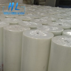 soft quality white color 75g 5×5 fiberglass mesh