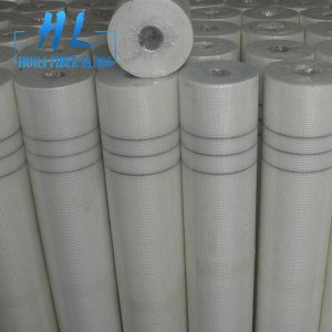 White color 90g 10x10mm reinforcement fiberglass mesh