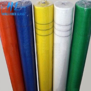 White color 110g 10x10mm reinforcement fiberglass mesh