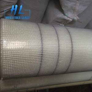 135g 5x5mm orange fiberglass mesh for mosaic