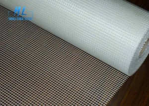 Mosaic Fiberglass Mesh Roll White Urea Glue Coated C Glass For Gypsum Board