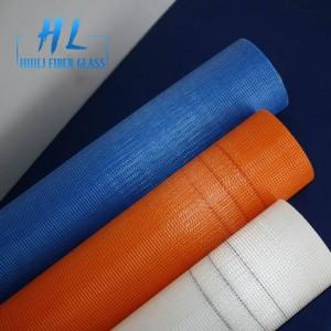 145g 5×5 white concrete reinforcement fiberglass mesh