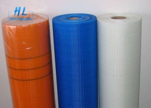 Woven Fiberglass Mesh 4*4mm 160g Alkali Resistant For Outer Wall And Roof