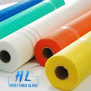 Fireproof 145g fiberglass mesh/fiberglass mesh roll with best glue