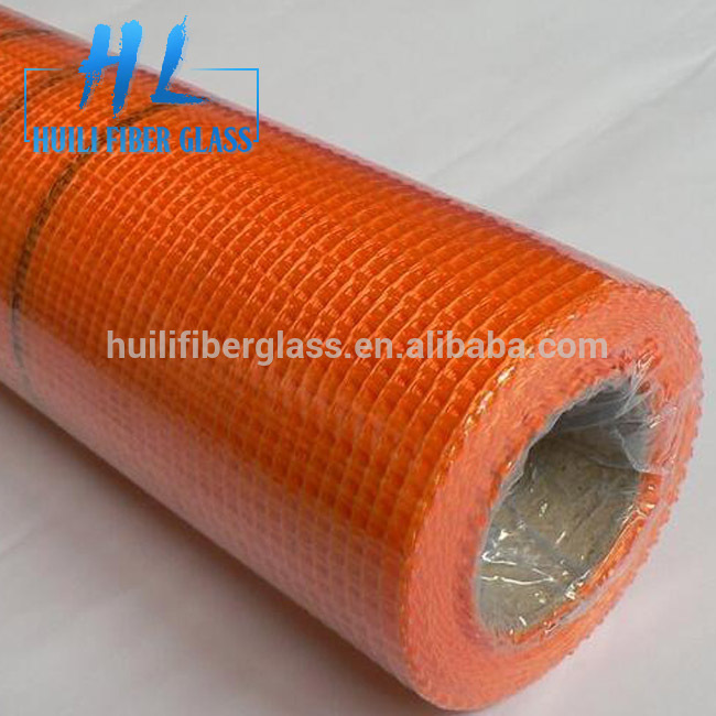 Fiberglass Mesh Fabric with PVC coated 4x4mm