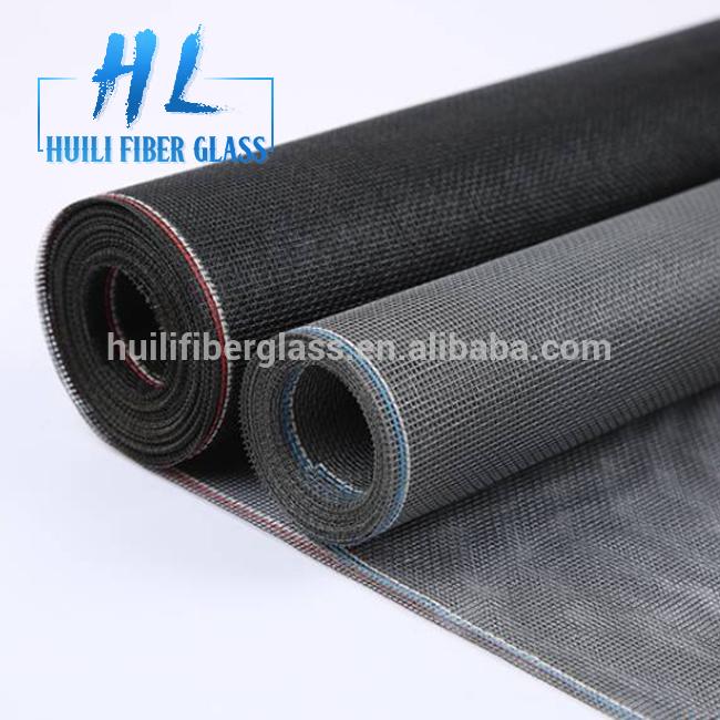 fiberglass mosquito protection door window screen netting roll 100g/m2