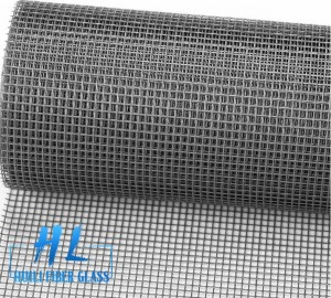 90g 110g Grey Black Color 18*16 Fiberglass Insect Window Screen on Sale
