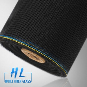 18*14 high tensile strength black color fiberglass insect screening to USA