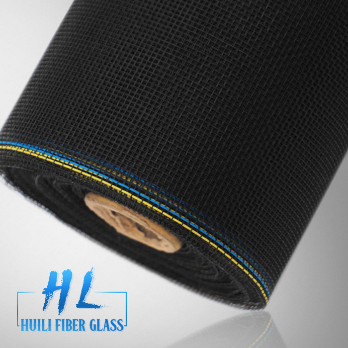 18*14 high tensile strength black color fiberglass insect screening to USA Featured Image